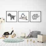 Decorate Your Child's Room With Attractive Nursery Wall Art Designs