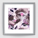 HELENA GREY PURPLE ART PRINT