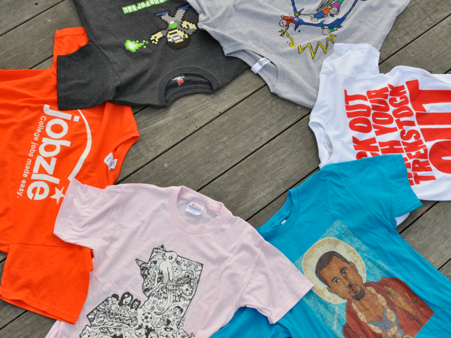 Screen Printing Services in NZ - The Print Room